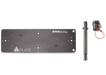 Quasarplate MYWAYGRIP T12 double plate