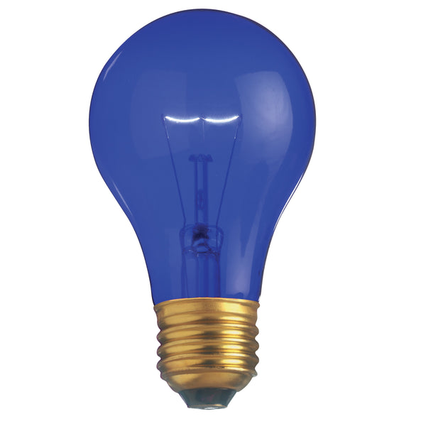Satco S6082 - 25W Transparent Blue Household Bulb