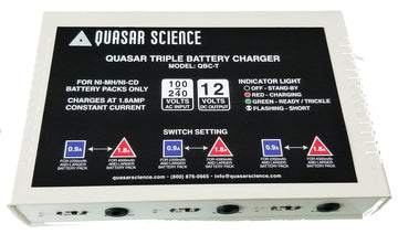Quasar Triple Battery Charger