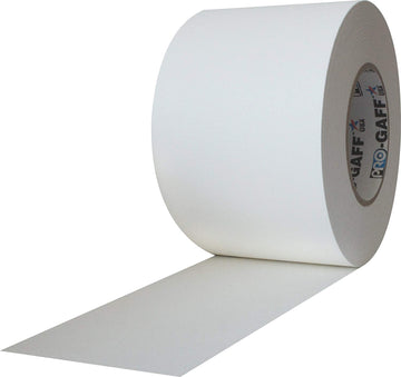 "4"" White Pro Gaffers Tape"