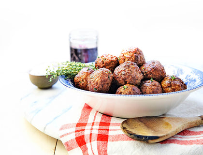 Cynthia's Freeze Ahead Beretta Meatballs