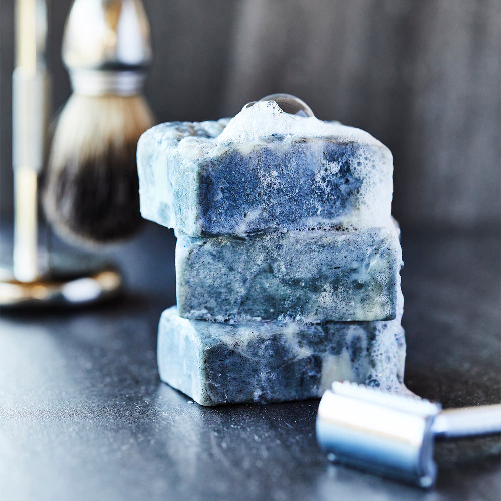 Handcrafted Charcoal Tallow Soap