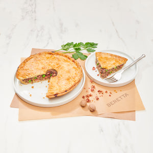 Antibiotic & Hormone Free Beef & Bacon Pie
