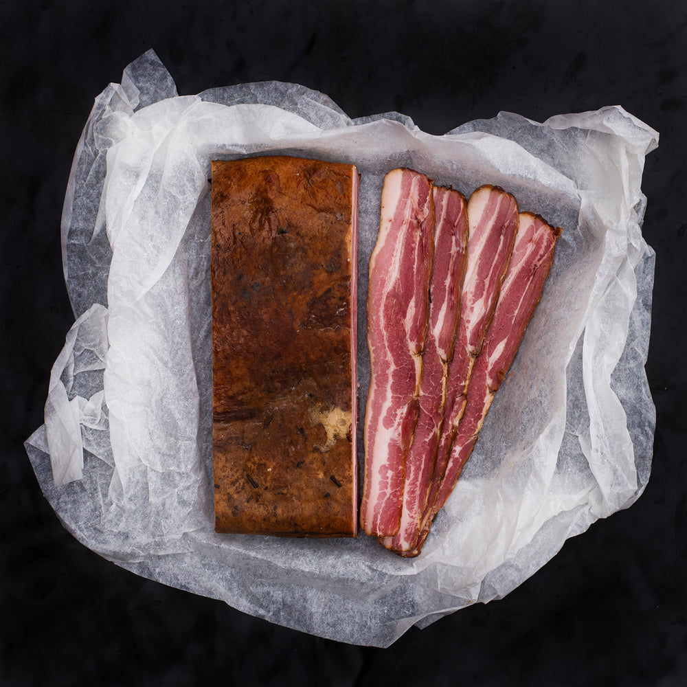 Antibiotic Free Smoked Bacon Slab