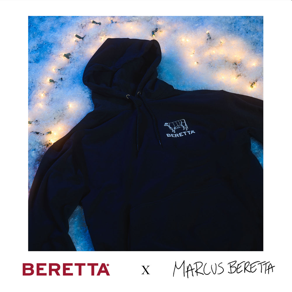 Beretta Farms x Marcus Beretta: Hooded Fleece Sweater