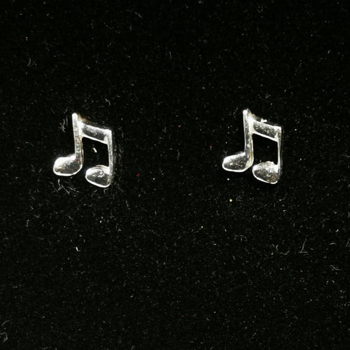 Music Note Ear Studs