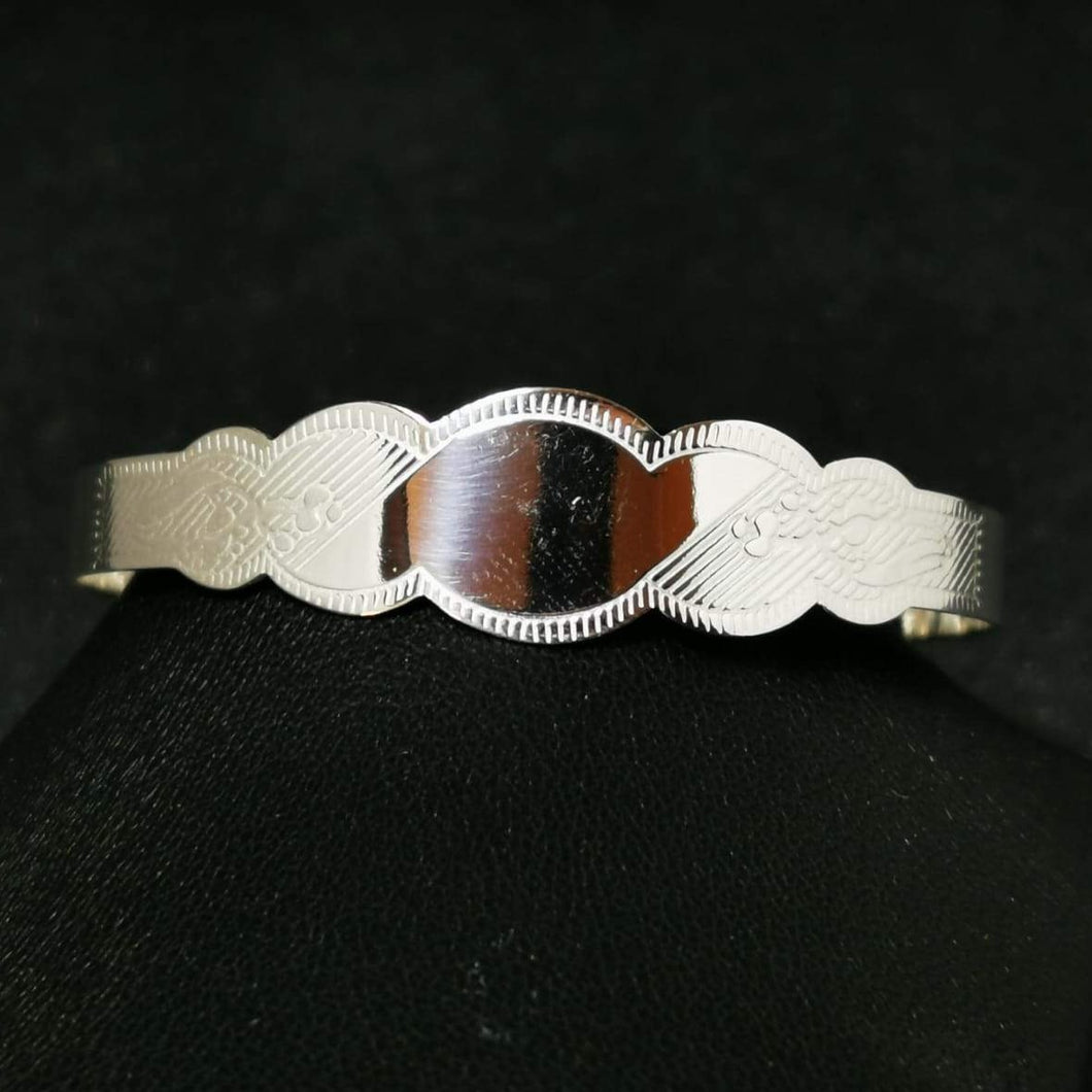 Junior Sterling Silver Bangle