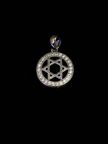 Star of David Religious Pendant