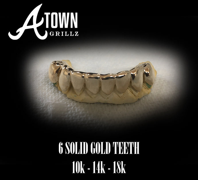 6 Solid Gold 10k,14k,18k, 22k