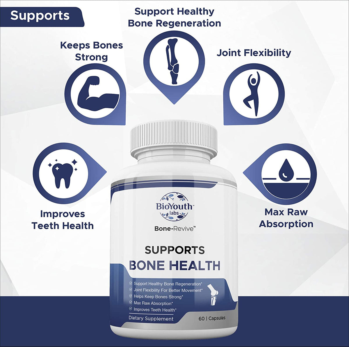 Bone-Revive™ Natural Bone Health Supplement