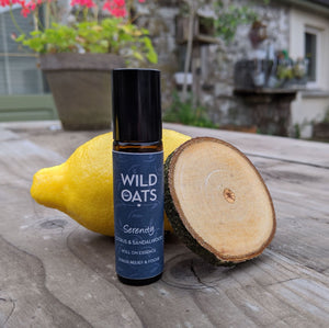 Load image into Gallery viewer, Wild Oats Serenity Roll-On Fragrance