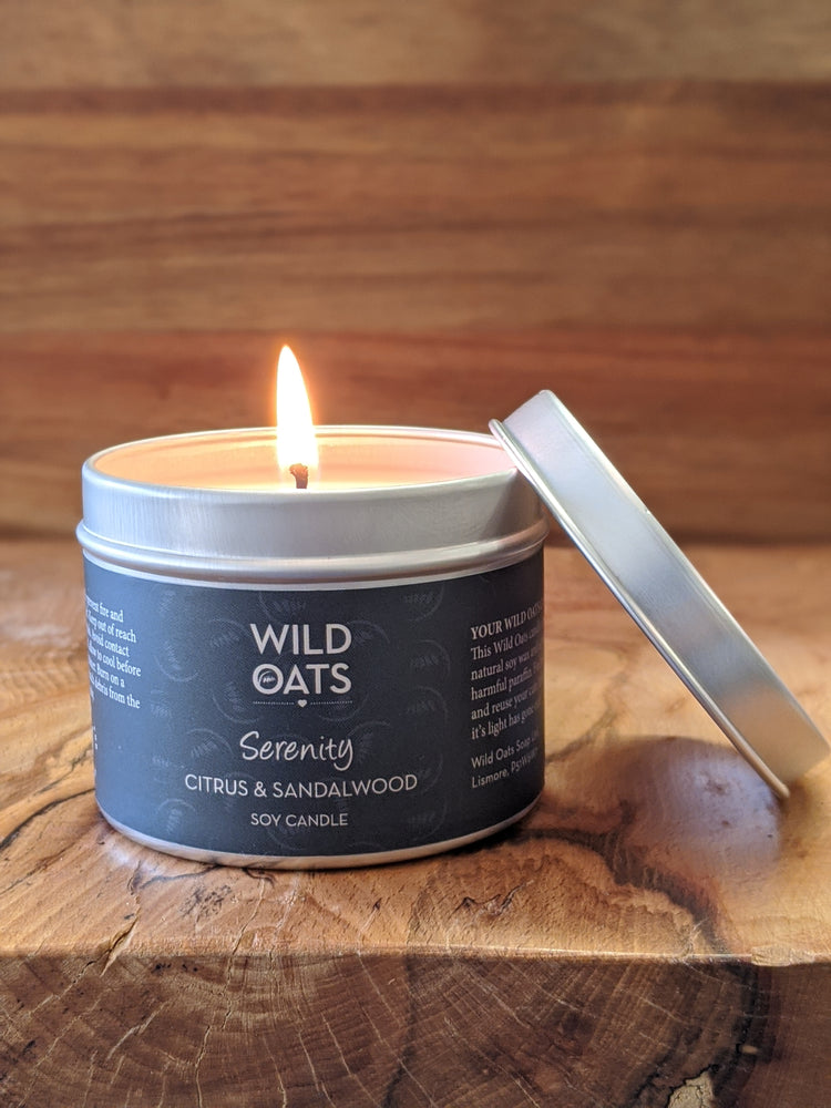 Wild Oats Serenity Candle