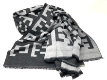 Load image into Gallery viewer, Elevate Scarf Charcoal