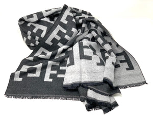 Elevate Scarf Charcoal