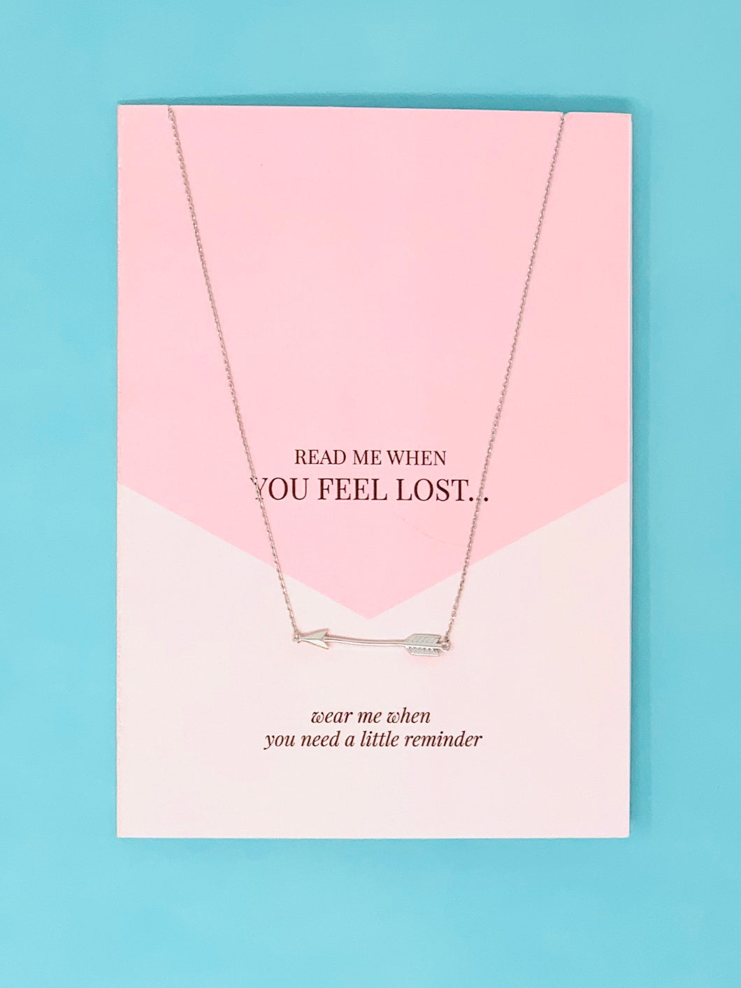 Feel Lost Jewellery Card