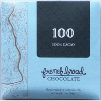 100% Cacao - 1oz/28g - (vegan)