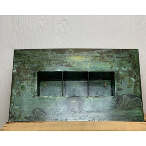 Rectangular Zinc Vertical Planter - 3