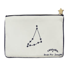 Load image into Gallery viewer, Capricorn Astrology Zip Pouch