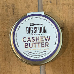 Cashew Butter with Coconut Nectar & Sea Salt 3oz