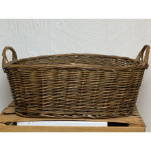 "Load image into Gallery viewer, Rustic Willow ""Tub"" Baskets"