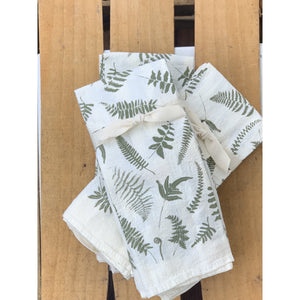 Fallen Ferns Napkins / Set of 4