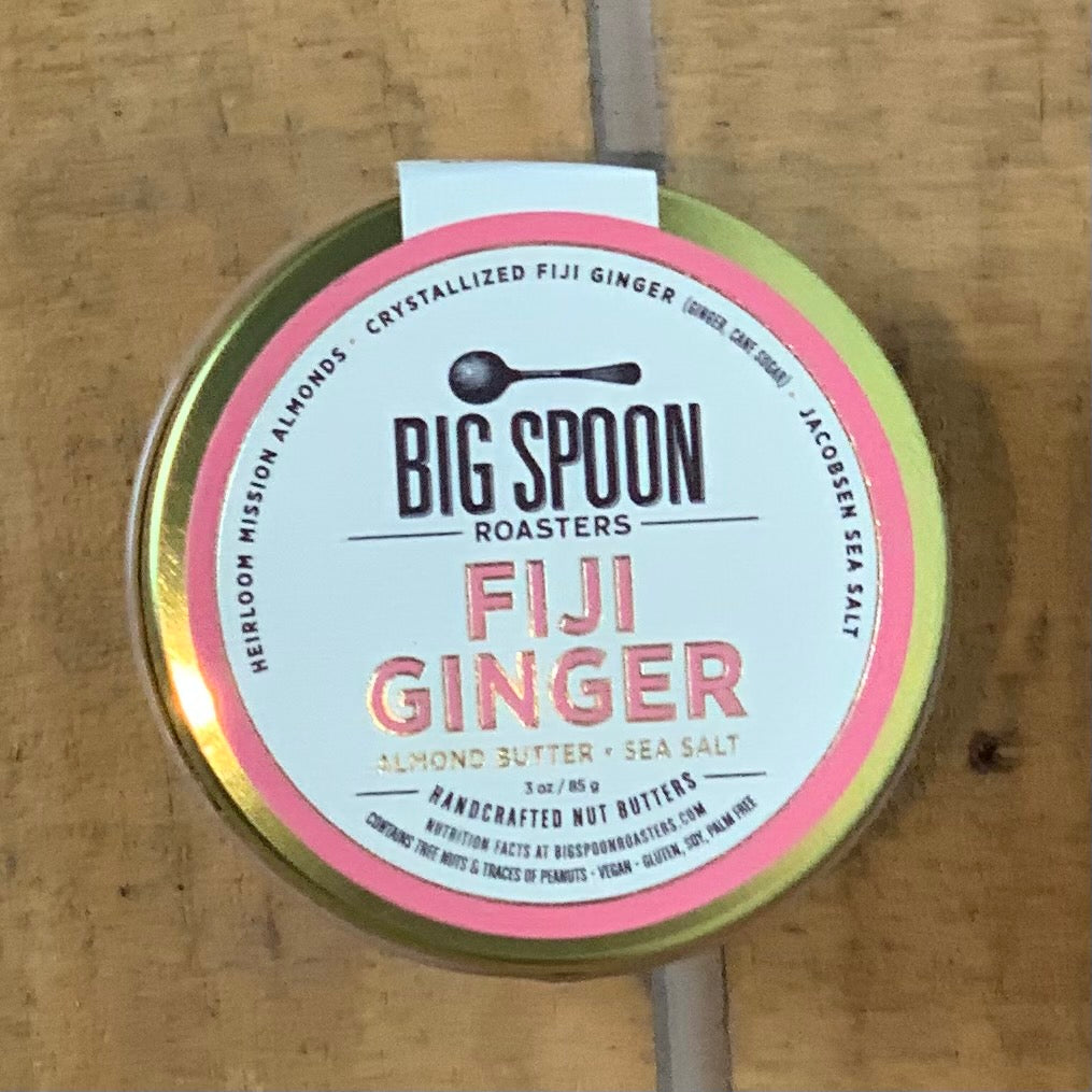 Fiji Ginger Almond Butter with Sea Salt 3oz