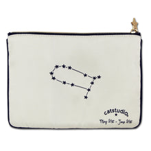 Load image into Gallery viewer, Gemini Astrology Zip Pouch