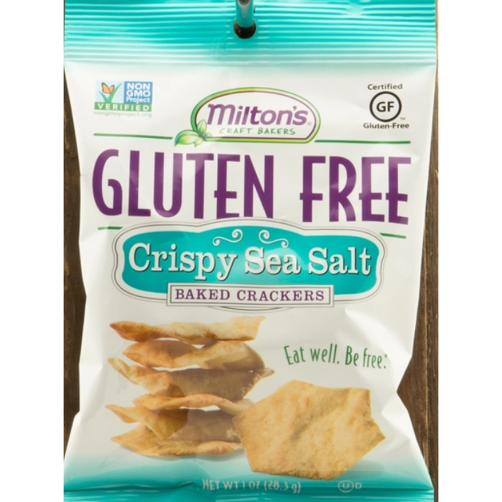 Crispy Sea Salt Gluten Free 1oz Crackers
