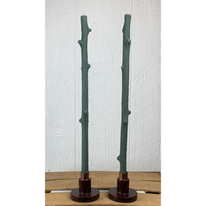 Hemlock Stick Candle by Stick Candles
