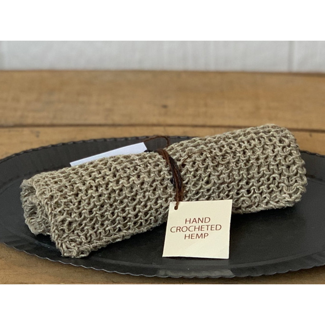Natural Hemp Washcloth