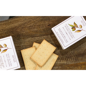 The Luxe Collection Olive Oil & Sea Salt Mini Cracker