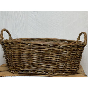 "Rustic Willow ""Tub"" Baskets"