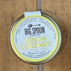 Lemon Coconut Cashew Butter with Sea Salt 3oz