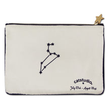 Load image into Gallery viewer, Leo Astrology Zip Pouch