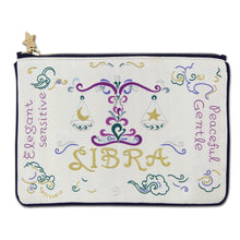 Load image into Gallery viewer, Libra Astrology Zip Pouch