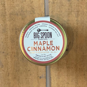 Maple Cinnamon Peanut & Pecan Butter with Sea Salt 3oz