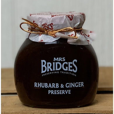 Mrs. Bridges Rhubarb & Ginger Preserve