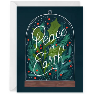 Holiday Terrarium Greeting Card- Box Set of 8