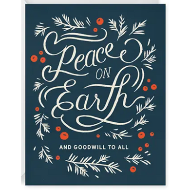 Peace on Earth Holiday Greeting Card - Box Set of 8