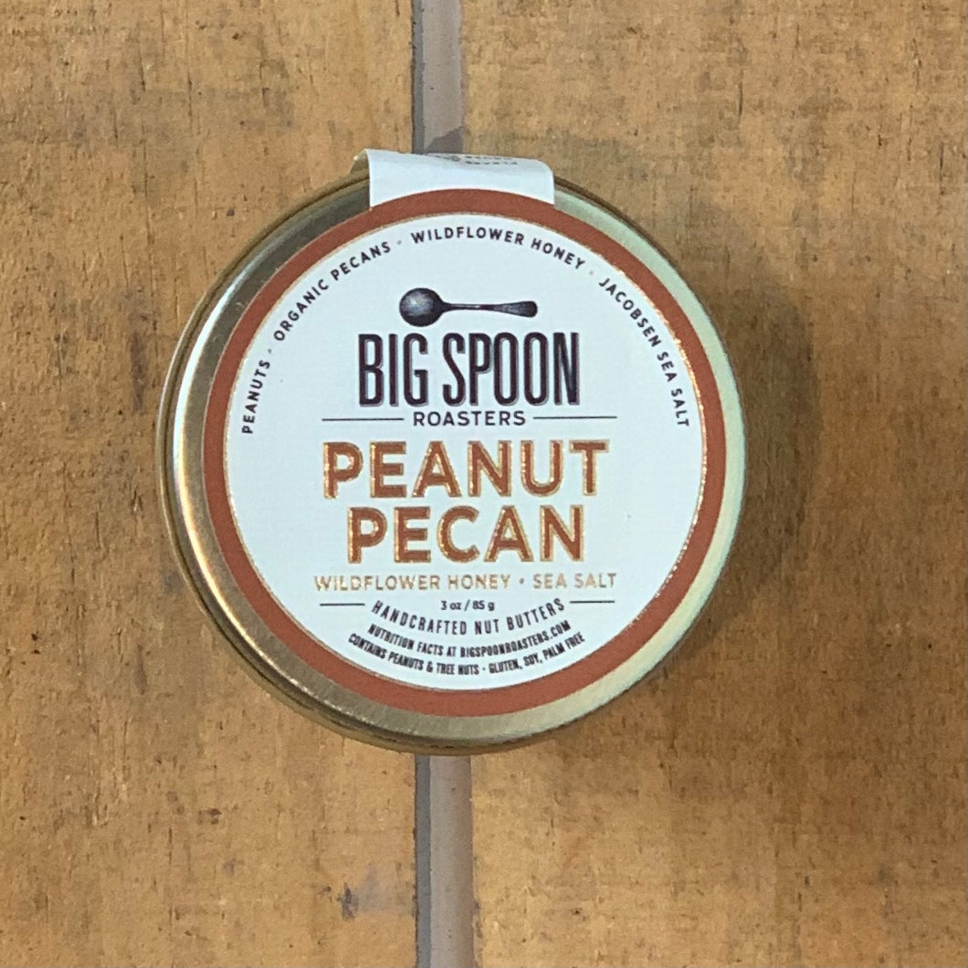 Peanut Pecan With Wildflower Honey & Sea Salt 3oz