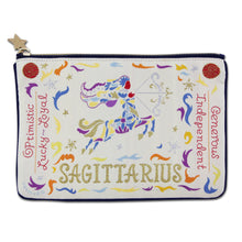 Load image into Gallery viewer, Sagittarius Astrology Zip Pouch