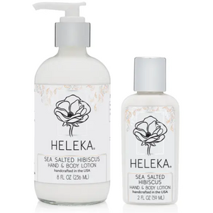 Sea Salted Hibiscus Hand and Body Lotion by Heleka