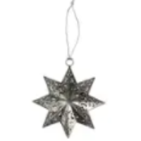 Load image into Gallery viewer, Fretwork Star Ornament
