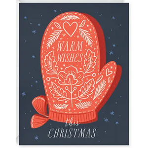 Warmest Wishes This Christmas Holiday Greeting Card