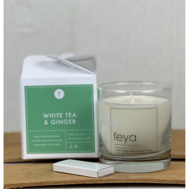 White Tea & Ginger Candle 6.5oz