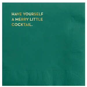 Merry Cocktail Napkins