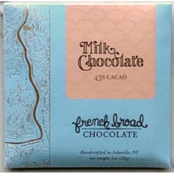 Milk + Chocolate 43% - 1oz/28g