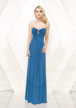 Strapless Sweetheart Floor Length Evening Formal Prom Dress HB133A