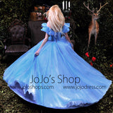 2015 Cinderella Ball Gown Evening Dress