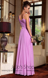 Magenta Pink Formal Prom Evening Bridesmaid Dress